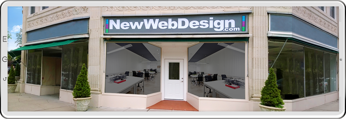NEW WEB DESIGN STORE FRONT