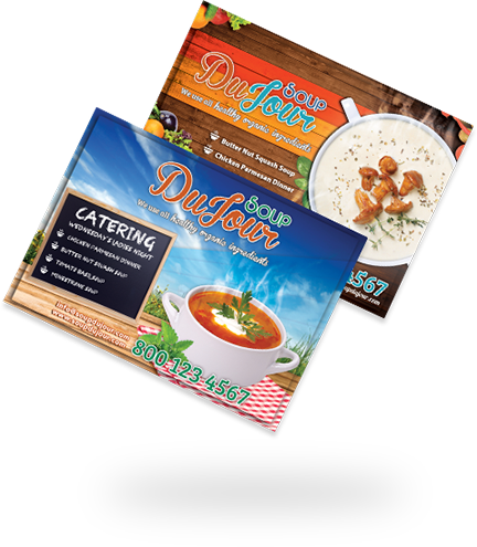 Flyers, Postcards & Direct Mailers Options